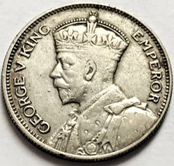 George V - One Shilling 1934 - Fiji