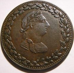 George III - HalfPenny Token 1812 - Tiff...