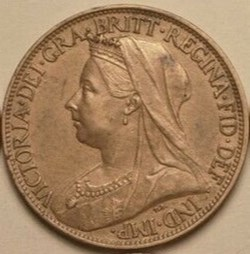 Victoria - One Farthing 1901 - Kingdom o...