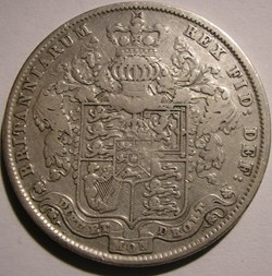 George IV - Half Crown 1825