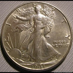 1941 Denver Half $