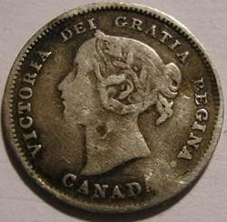Victoria - 5 Cents 1901