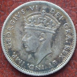 George VI - 10 Cents 1941C Newfoundland