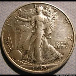 1945 San Francisco Half $