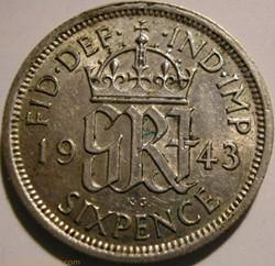 George VI - 6 Pence 1943 - Great Britain