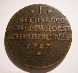 Duchy of Schleswig-Holstein - 1 Sechslin...
