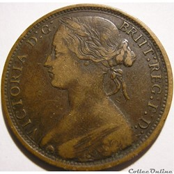 Victoria - One Penny 1873 Kingdom of Great Britain