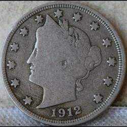1912 San Francisco 5 Cents