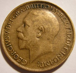 George V - Farthing 1913 - Great Britain