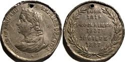 Victoria - 1887 Golden Jubilee Medal - G...