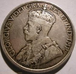 George V - 1 Dollar 1936