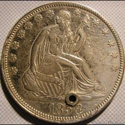 1858 Half Dollar