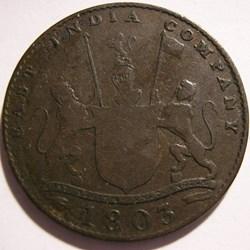 Madras Presidency - 10 Cash 1803 - East ...
