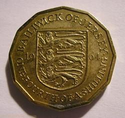 States of Jersey - 1/4 Shilling 1964 - E...