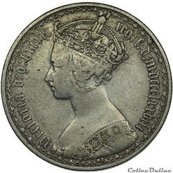 Victoria - One Florin 1878 - Kingdom of Great Britain