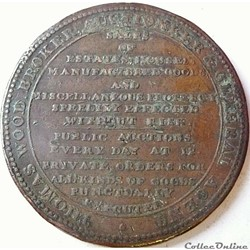 1811 HalfPenny Thomas Wood - Middlesex (...