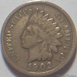 1902 One Cent (ex.3)