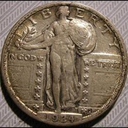 1924 Quarter Dollar
