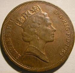 Elizabeth II - 2 Pence 1985 - UK