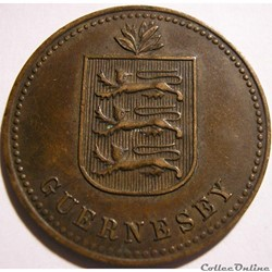 States of Guernsey - 4 Doubles 1914 H