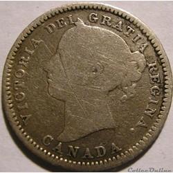Victoria - 10 Cents 1882 Heaton