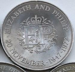 Elizabeth II - 25 New Pence 1947-1972 Si...