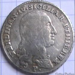 1798 Royaume de Naples 20 Grana - Ferdinando IV de Bourbon-Siciles
