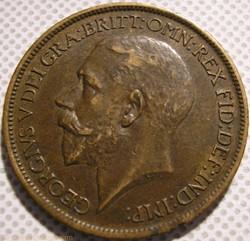 George V - Half Penny 1916 - United King...