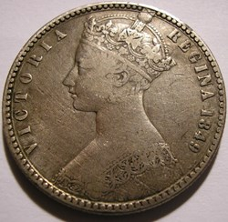 Victoria - One Florin 1849 - Kingdom of ...