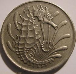 Singapore - 10 Cents 1972