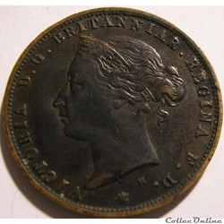 Victoria - 1/24 Shilling 1877 H - Jersey