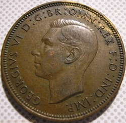 George VI - Half Penny 1938 - UK