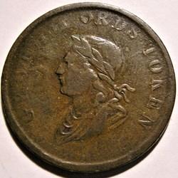 George IV - HalfPenny Token 1834 - Irela...