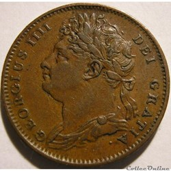 George IV - 1 Farthing 1825 Great Britain