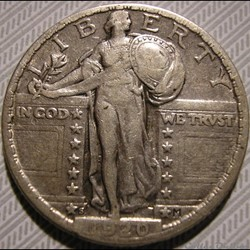 1920 San Francisco Quarter Dollar
