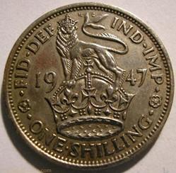 George VI - One Shilling 1947 - England
