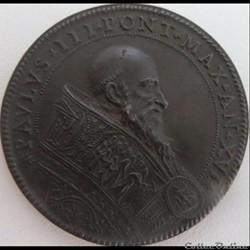 Paul III - Pope Year 1549 - The Ganymede Medal