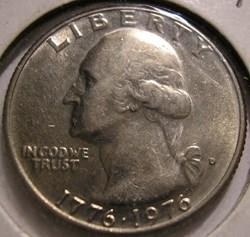 1976 D Quarter Dollar - Bicentennial