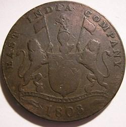 Madras Presidency - 20 Cash 1803 - East ...