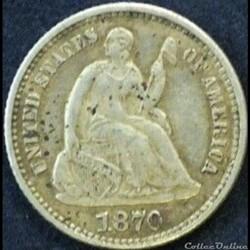 1870 Half Dime (ex.2)