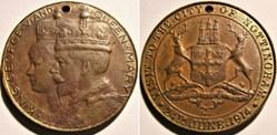 George V & Mary - 1914 Royal visit to No...