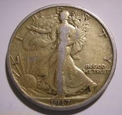1917 Half Dollar (ex2)