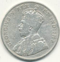George V - 50 Cents 1911