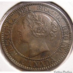 Victoria - One Cent 1859 (DP1)
