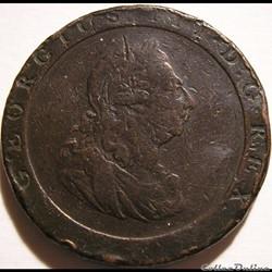 "George III - 1 Penny ""Cartwheel"" 1797 Great Britain"