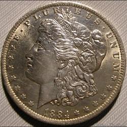 1884 New Orleans Dollar