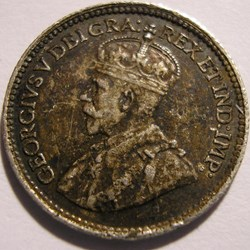 George V - 5 Cents 1918