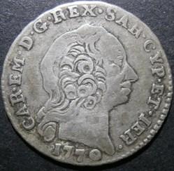 1770 Royaume de Sardaigne, Uno Reale - C...