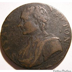 1793 HalfPenny - Newton - Middlesex