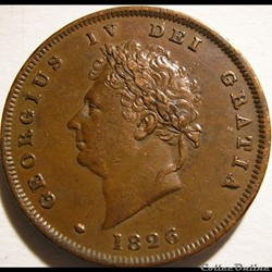 George IV - 1 Penny 1826 Great Britain